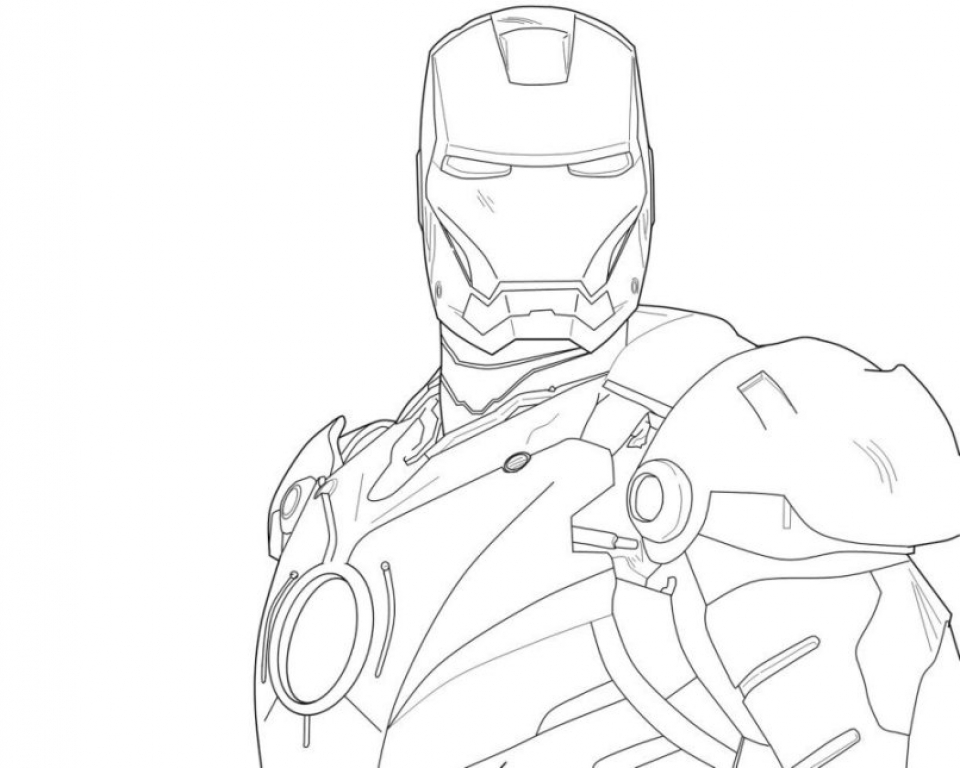 Get This Online Ironman Coloring Pages 61800