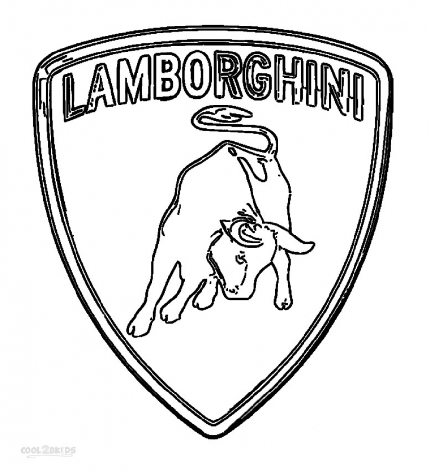 Get This Online Lamborghini Coloring Pages 60096