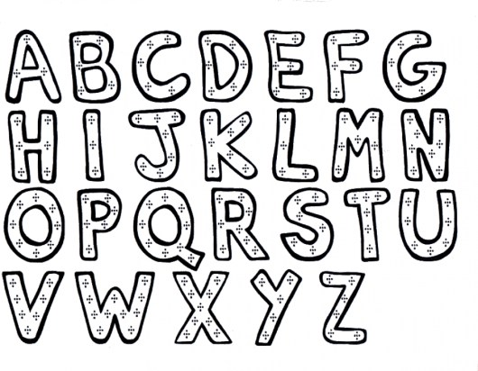 Online Letter Coloring Pages for Kids 8QgDr