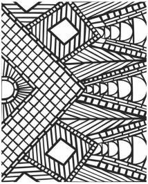Online Mosaic Coloring Pages 13228