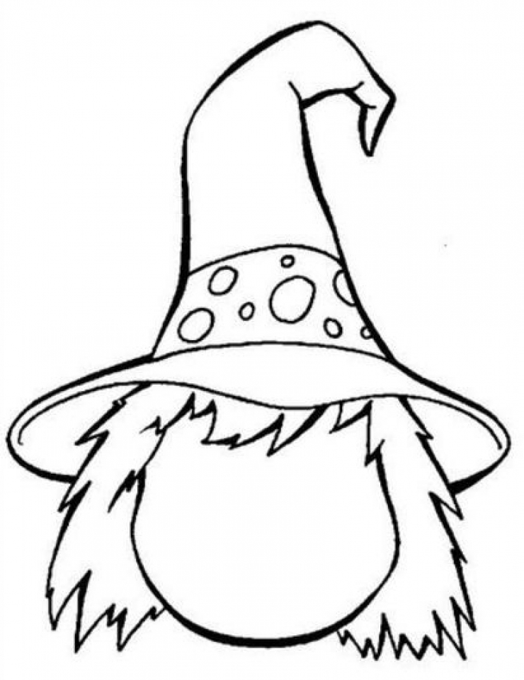 Free Coloring Page Of Witches - Coloring Home | 960x740