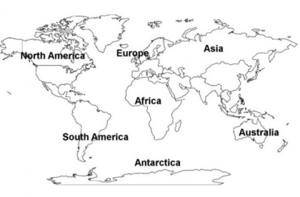Online Printable World Map Coloring Pages rczoz