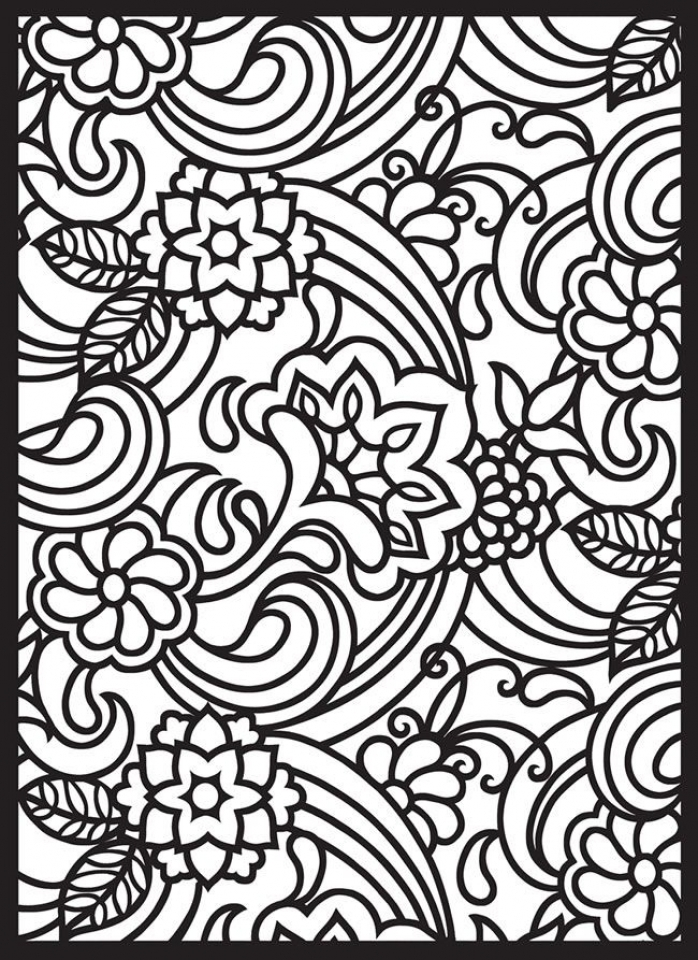 Online Stained Glass Coloring Pages   37425