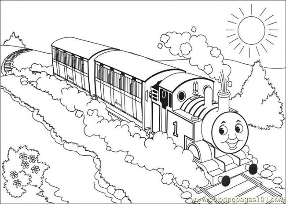 Online Thomas And Friends Coloring Pages to Print   aycRt