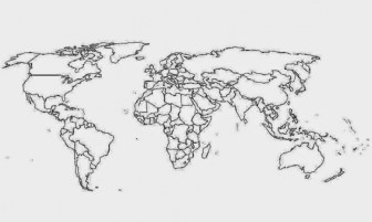 Online World Map Coloring Pages to Print swsyq