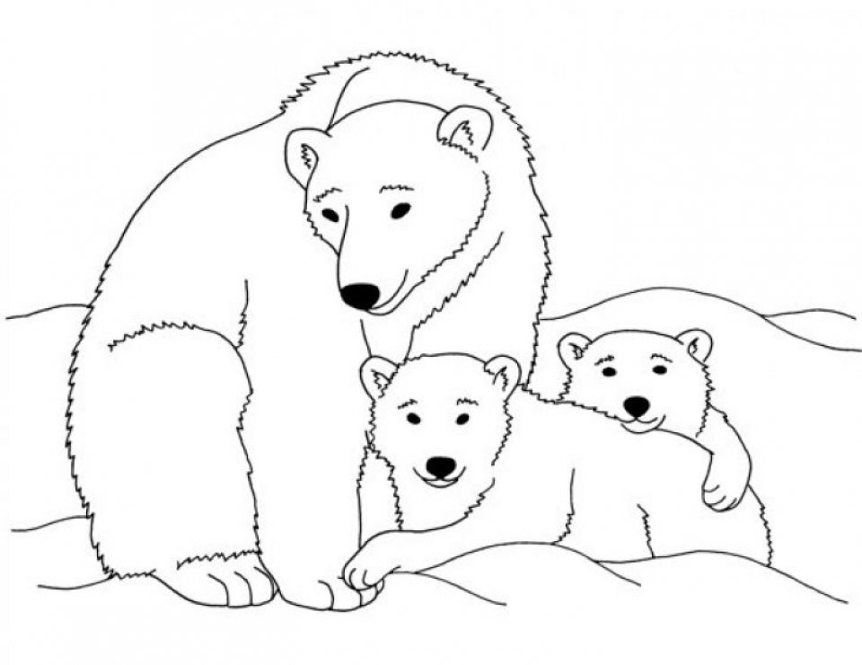 Global Warming Coloring Page