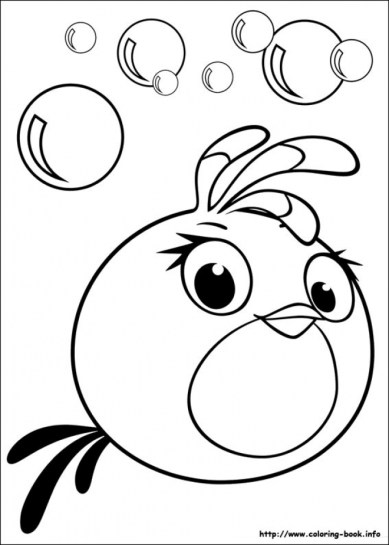 Preschool Angry Bird Coloring Pages to Print Drx0J