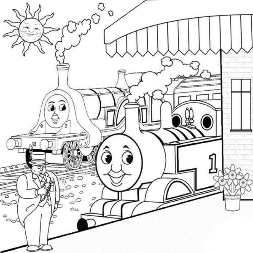 - Get This Preschool Printables Of Thomas And Friends Coloring Pages