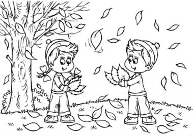 Printable Autumn Coloring Pages Online 91060