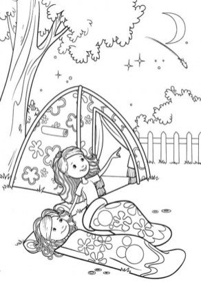 Printable Camping Coloring Pages 41558