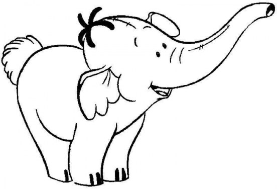 Printable Elephant Coloring Pages for Kids 47031