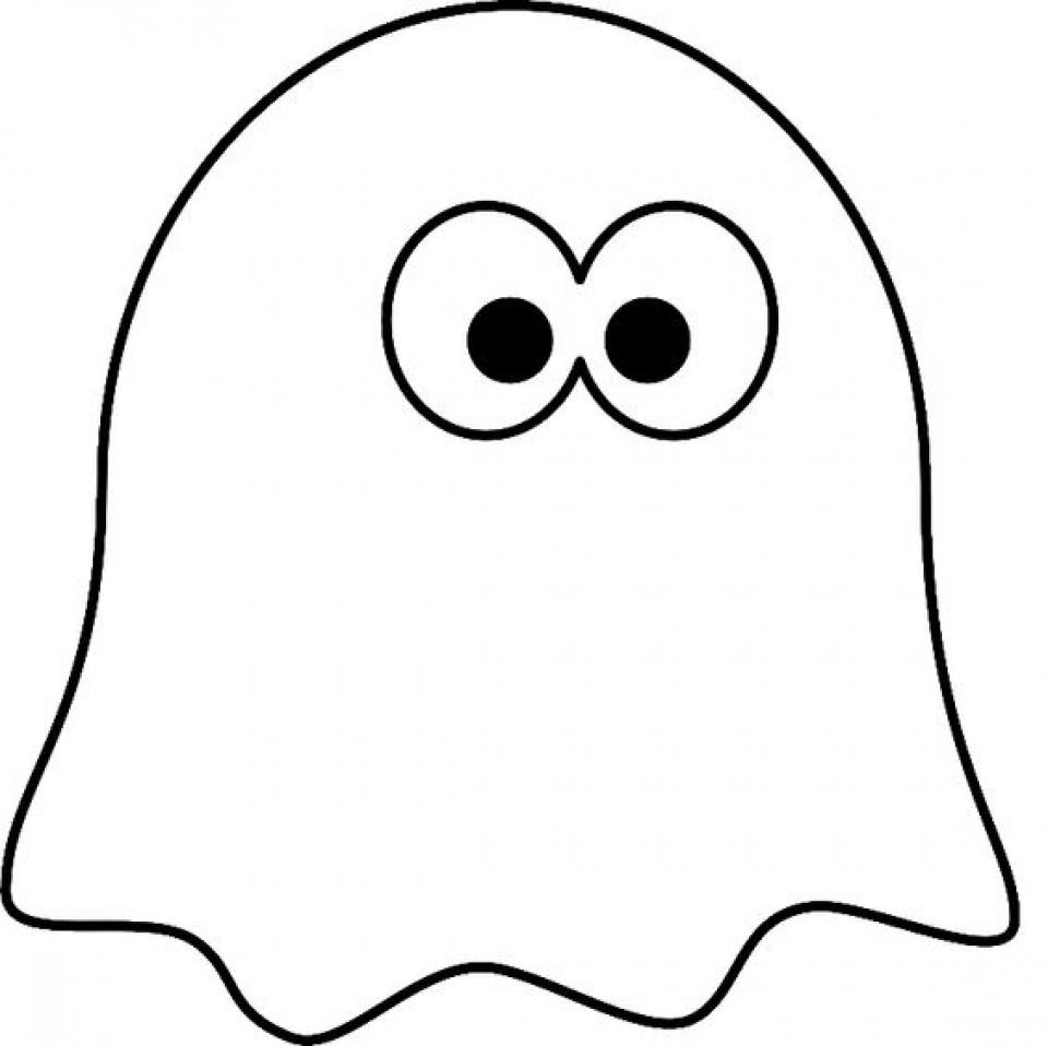 Get This Printable Ghost Coloring Pages 73400