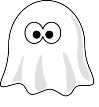 Printable Ghost Coloring Pages Online 91060