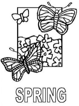 Printable Image of Spring Coloring Pages t2o1m