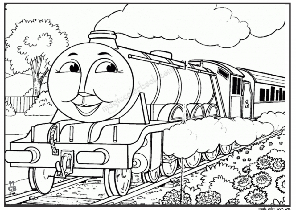 Printable Image of Thomas And Friends Coloring Pages   UpIuI