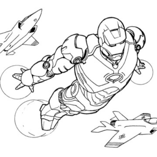 Printable Ironman Coloring Pages Online 51321