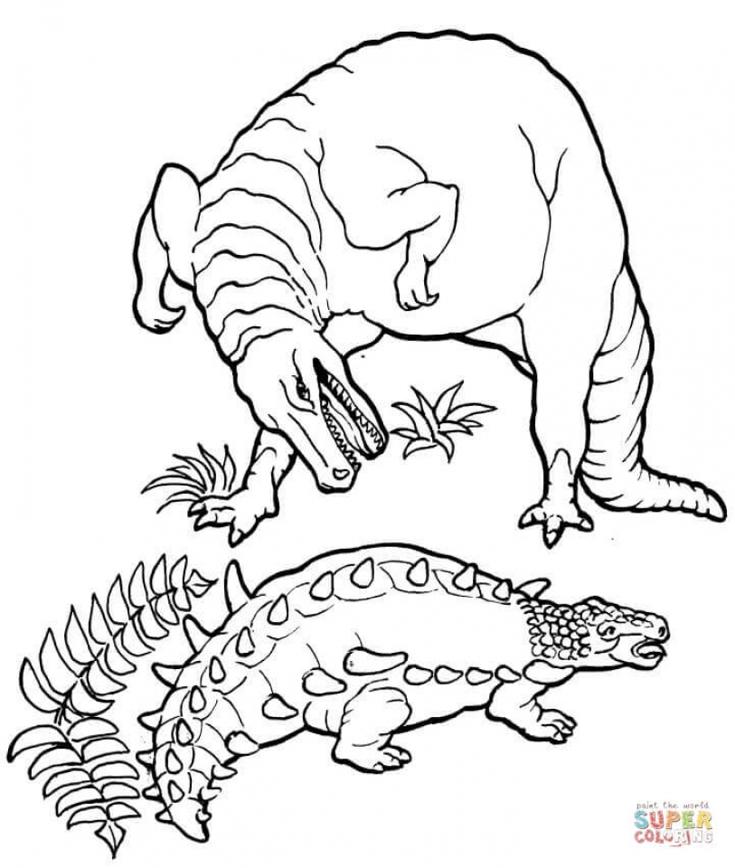 Printable T Rex Coloring Pages Online   59307