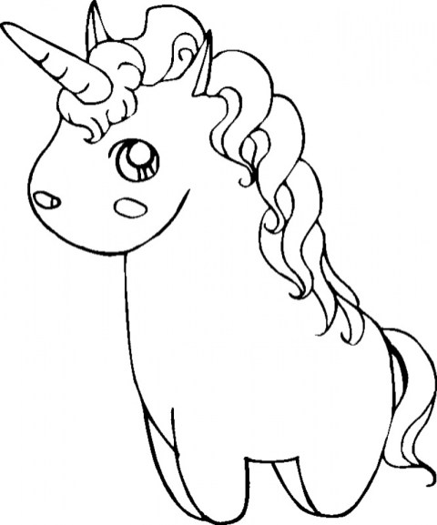 Printable Unicorn Coloring Pages 87141