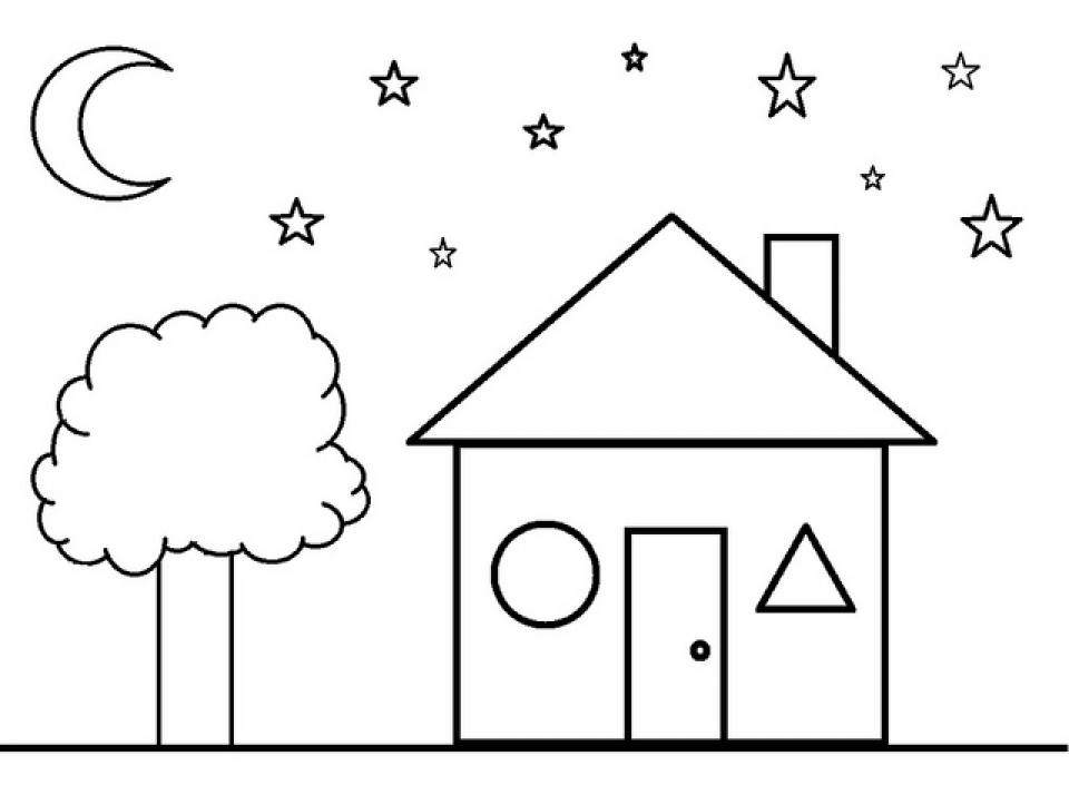 Get This Shapes Coloring Pages Free for Kids e9bnu