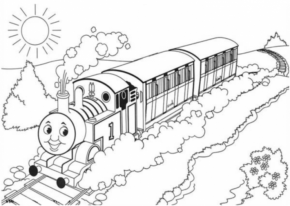 20+ Free Printable Thomas And Friends Coloring Pages