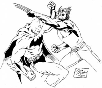 Wolverine Coloring Pages to Print for Kids KIFps