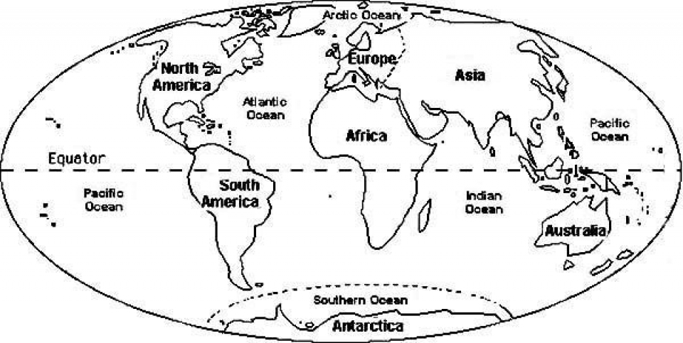 - 20+ Free Printable World Map Coloring Pages - EverFreeColoring.com