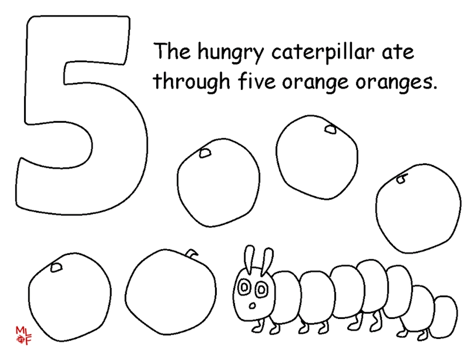 - Get This The Very Hungry Caterpillar Coloring Pages Free For Kids - 32812 !