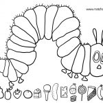 20+ Free Printable The Very Hungry Caterpillar Coloring