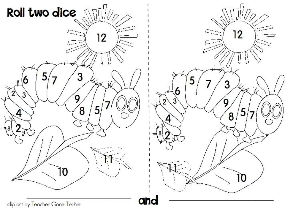 The Very Hungry Caterpillar Coloring Pages Free for Kids - 77581