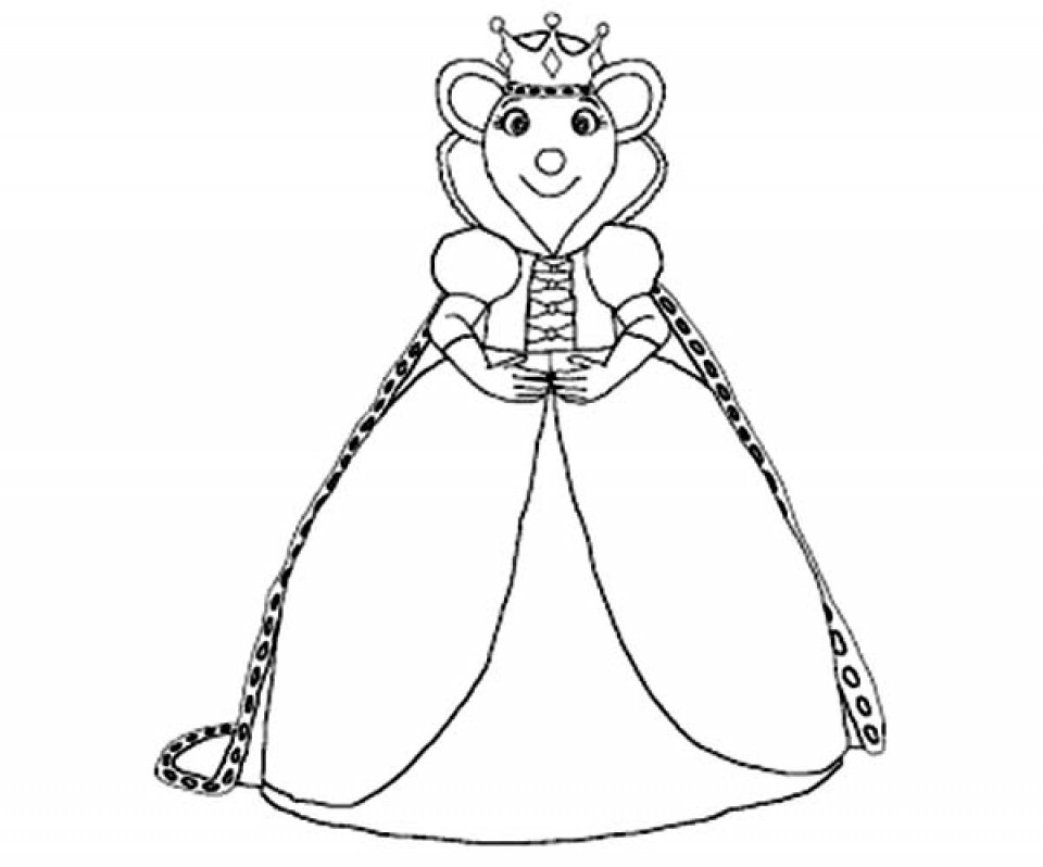 Angelina Ballerina Coloring Pages Free Printable   434403