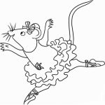 20+ Free Printable Angelina Ballerina Coloring Pages