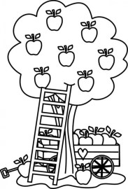 Apple Coloring Pages Free Printable fyo108