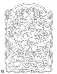 Get This Art Deco Patterns Coloring Pages for Adults Free ...