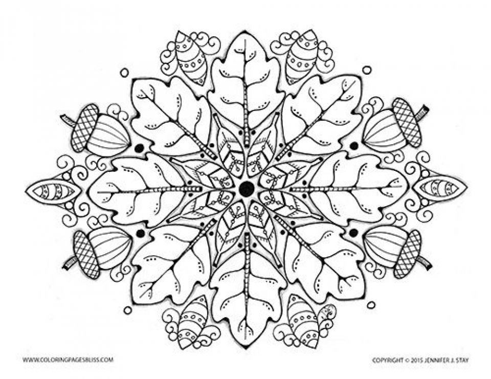 - 20+ Free Printable Autumn/Fall Coloring Pages For Adults -  EverFreeColoring.com