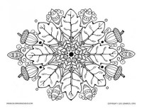 20+ Free Printable Autumn/Fall Coloring Pages for Adults ...