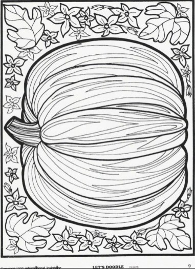 Autumn Coloring Pages for Adults Free Printable 4c6pq