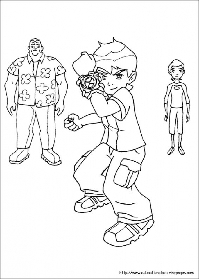 Get This Ben 10 Coloring Pages Free Printable jcaj11