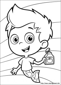 Bubble Guppies Coloring Pages Free Printable 253836