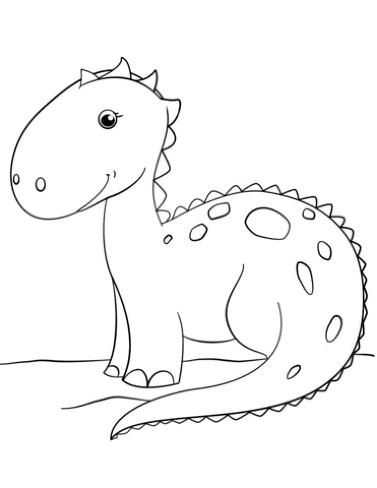 Dinosaurs Coloring Pages Free Printable   jcaj23