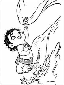 Disney Princess Moana Coloring Pages to Print BN00M