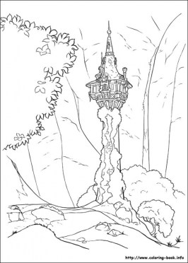 Disney Princess Rapunzel Coloring Pages SY4BC