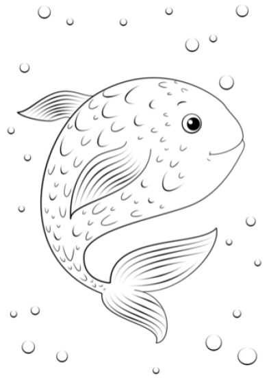 Fish Coloring Pages Free Printable 253848