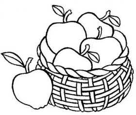Free Apple Coloring Pages to Print 590f19