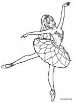 Get This Free Ballerina Coloring Pages 72ii14