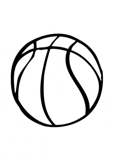Free Basketball Coloring Pages 5716