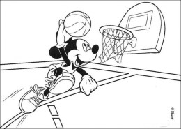 Free Basketball Coloring Pages to Print 754991