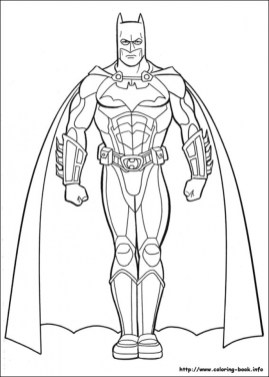 Free Batman Coloring Pages 706108