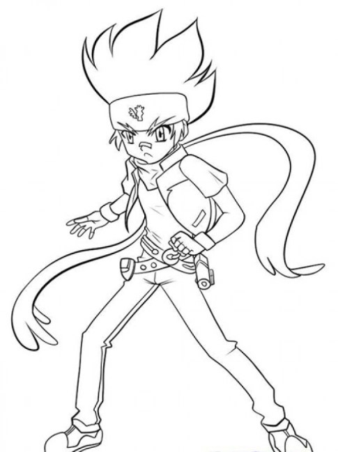 Free Beyblade Coloring Pages to Print 33958