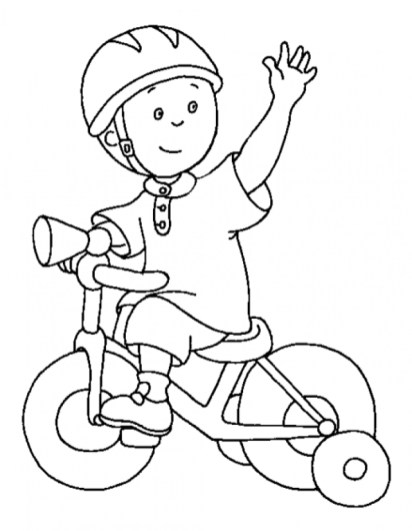 Free Caillou Coloring Pages to Print t29m27
