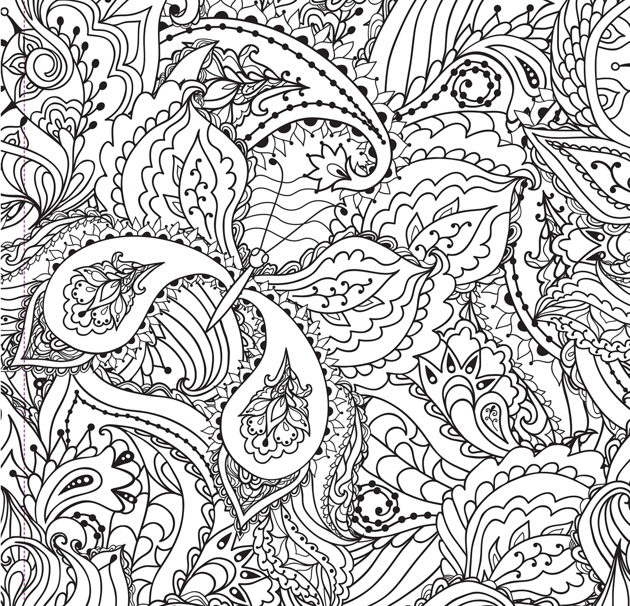 Complex Animal Coloring Pages - Coloring Pages | 1193x1240